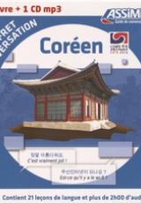 Coréen. Coffret conversation, avec 1 CD audio MP3