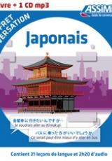 Japonais. Coffret de conversation, avec 1 CD audio MP3