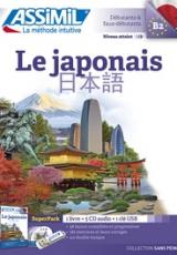 Superpack Le japonais. Contient 1 clé USB, avec 5 CD audio