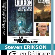 Dédicace roman : Steven Erikson
