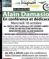 Mois de l'Imaginaire : Dédicace roman Alain Damasio