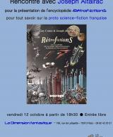 Rencontre avec Joseph Altairac pour l'encyclopédie Retrofictions