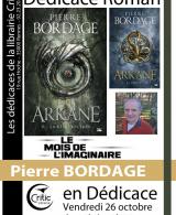 Dédicace roman : Pierre Bordage