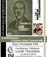 Conférence : L'Autre chez Lovecraft