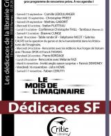 Dédicaces SFFF - Mois de l'Imaginaire - Rencontres
