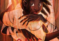 Couverture du chapitre 6 d'Ici Vont Les Morts : Sang et Cendres, dernier chapitre du webcomic