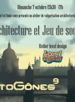 Architecture vs Jeu de société / Atelier Level design Loony Quest