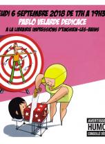 """Librairie Impressions - Dédicace Pablo Velarde Série """"Garde partagée"""""""