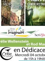 Mois de L'Imaginaire : Aurelie Wellenstein et Rod Marty dédicace