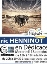 Mois de l'Imaginaire : dédicace BD Eric Henninot