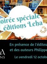 Soirée spéciale éditions Léha