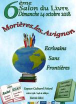 Participation au 6eme salon du Livre - Morières lès Avignon