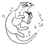 Des livres et des loutres